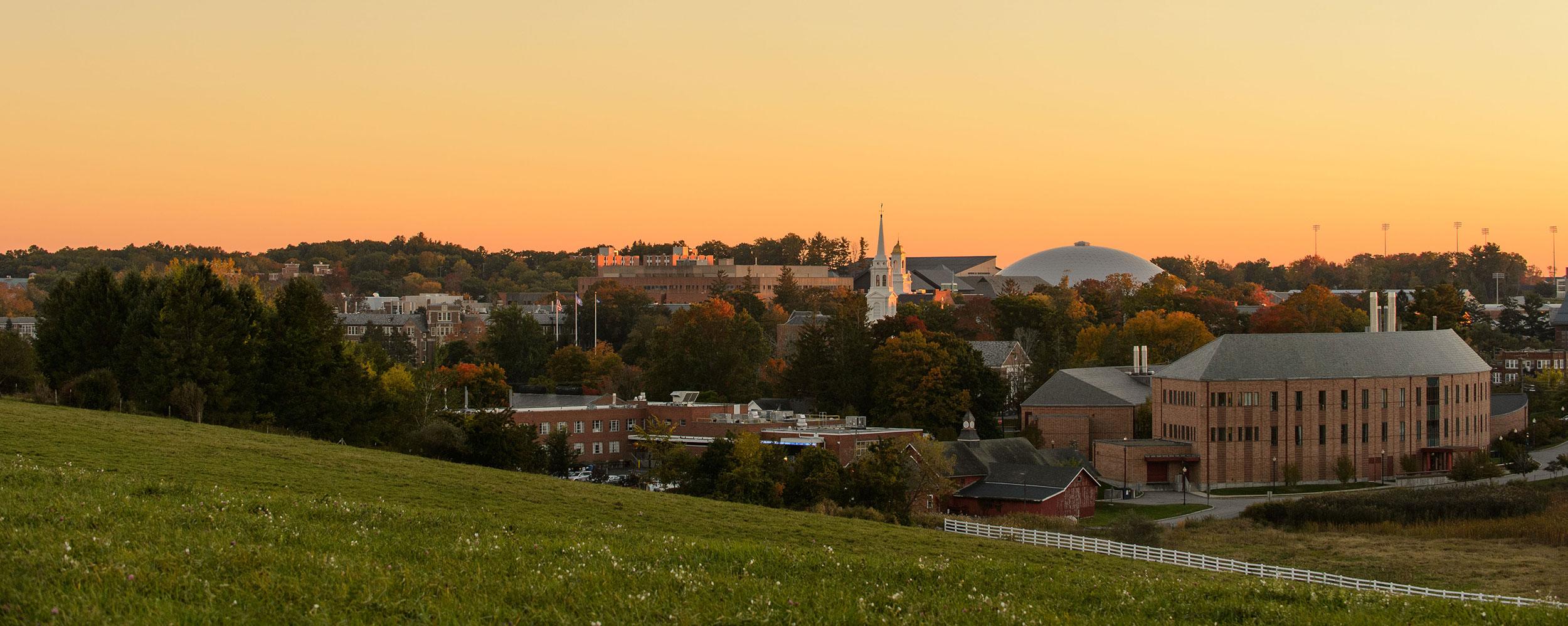 UConn Storrs Skyline