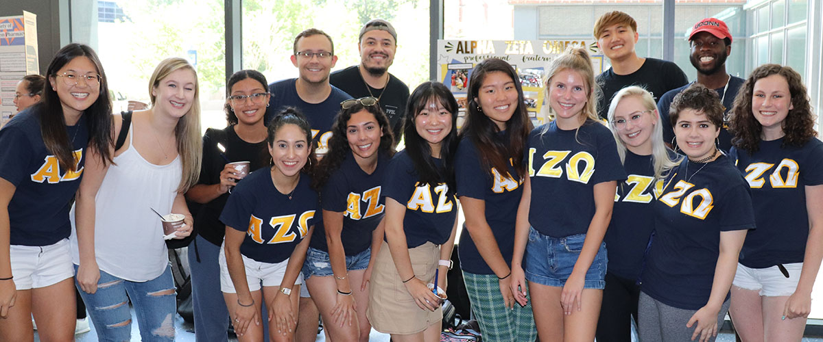 Group photo of pharmacy students in a student organization - AZO