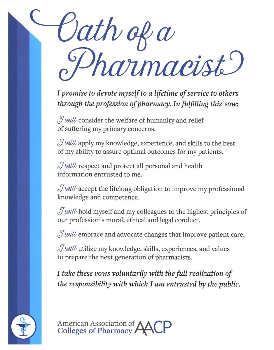 Oath of a Pharmacist