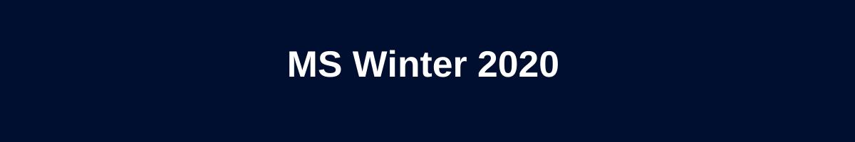 MS Winter 2020 graphic